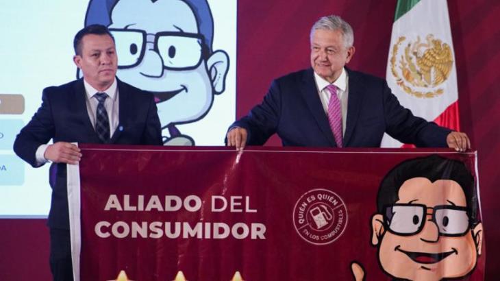 Entrega PROFECO reconocimientos a gasolineras 'aliadas del consumidor'