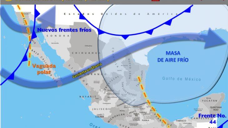 Prevalecerá ambiente fresco en Tabasco, hasta el viernes