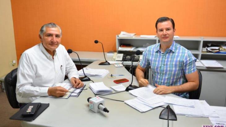 Se pedirá adelanto de participaciones por 5 mmdp para pagar a burócratas: Adán Augusto