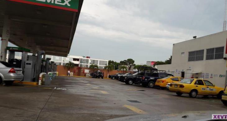 Paran patrullas de la Secretaría de Seguridad en Tabasco por falta de gasolina