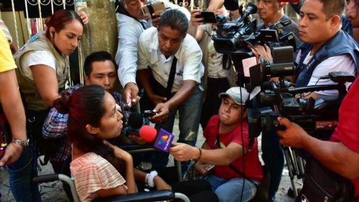 Abandona hospital mujer agredida por su ex pareja en juzgado de oralidad