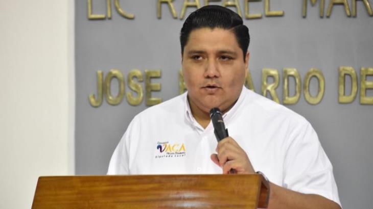 Denuncia diputado por Cárdenas vandalismo contra promoción de su informe legislativo