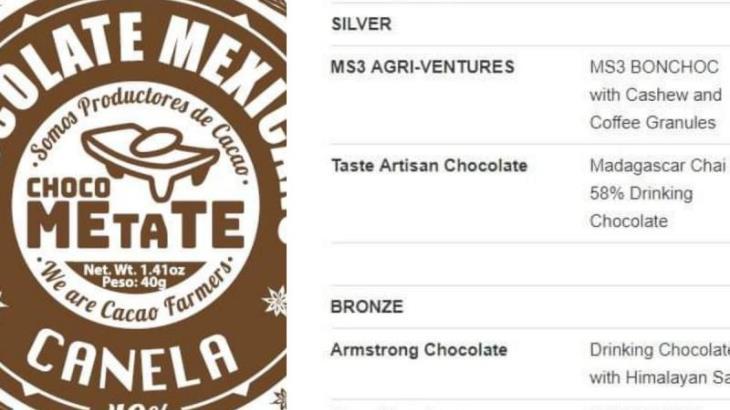 Gana Chocolates Wolter medalla de Bronce en Londres