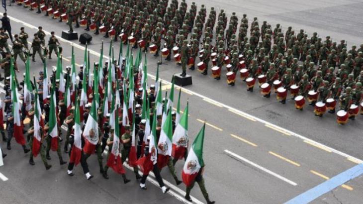 Guardia Nacional y pipas anti huachicol, novedades del desfile de hoy en la CDMX