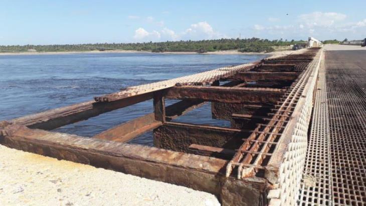 Anuncian rehabilitación del puente de Sánchez Magallanes