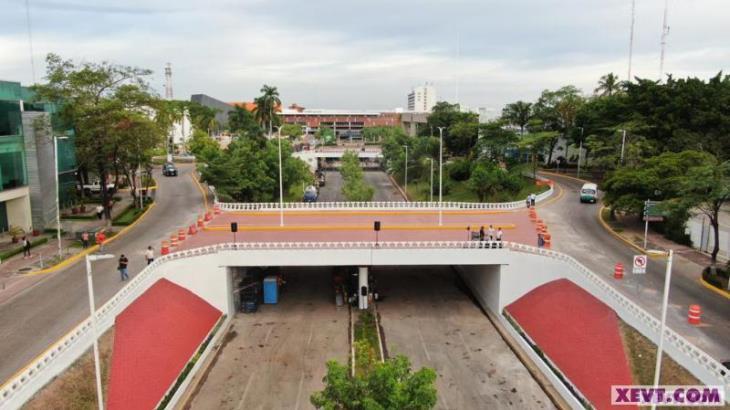Reabren hoy circulación de carriles centrales de Paseo Tabasco