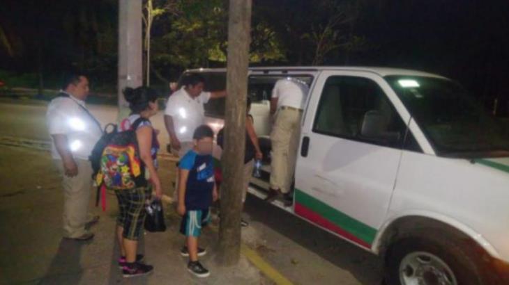 Detienen a centroamericanos en Villahermosa