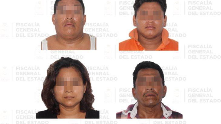 Sentencian a cincuenta años de prisión a cinco personas acusadas de secuestro en Tabasco