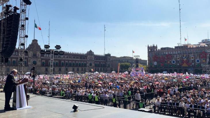 Anuncia AMLO que antes de que concluya 2019 licitará construcción del Tren Maya