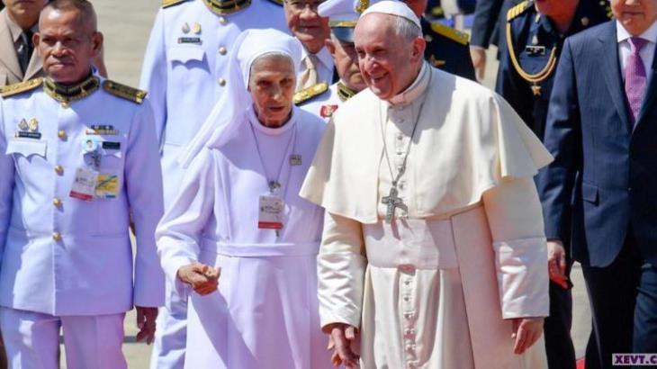 El Papa viaja a Tailandia y Japón para clamar contra el desarme