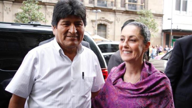 Difunde el ministro interino de gobierno de Bolivia audio donde Evo Morales hace 'terrorismo'