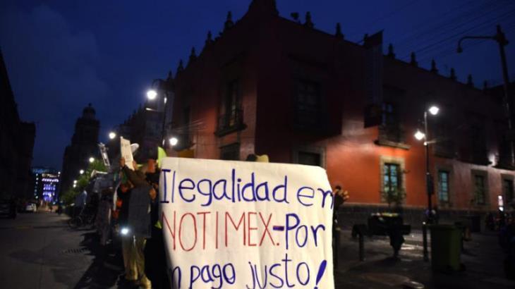 Anuncian indemnización para trabajadores despedidos de Notimex