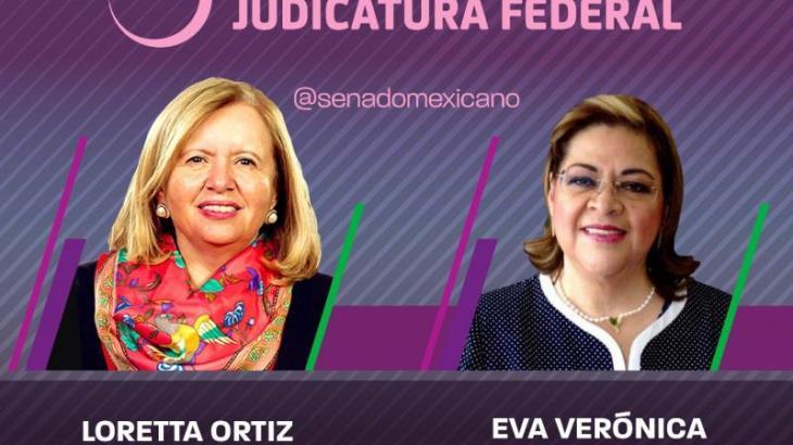 Designa Senado a Loretta Ortiz y Eva De Gyves como consejeras del Consejo de la Judicatura Federal