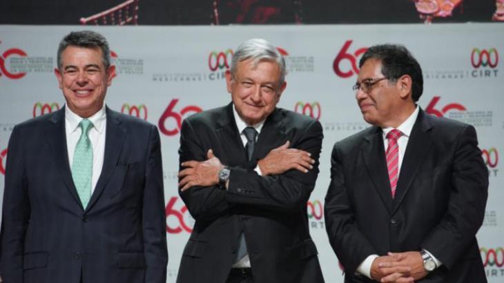 Pide CIRT a Obrador quitar tiempos oficiales en medios de comunicación; AMLO promete analizarlo
