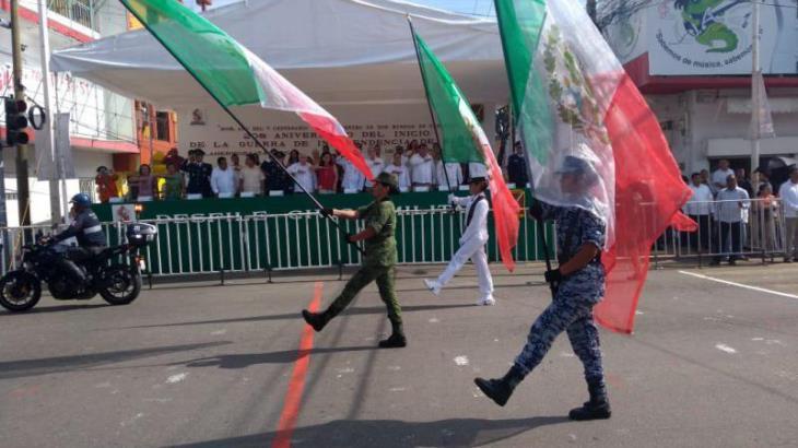 Todo listo para el desfile cívico militar en Tabasco
