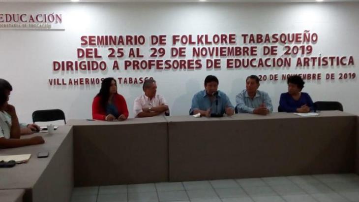 Denuncian Folkloristas de Tabasco A.C falta de apoyo de Cultura para realizar seminario