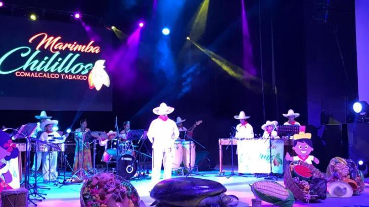 Cierran actividades del 5to. día del festival Ceiba con espectaculares conciertos de marimba, música clásica y flauta