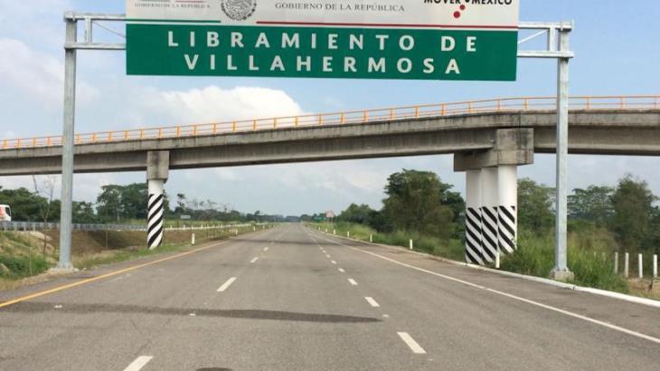 Litigio por invasión del derecho de vía, mantiene detenida la segunda etapa del Libramiento de Villahermosa