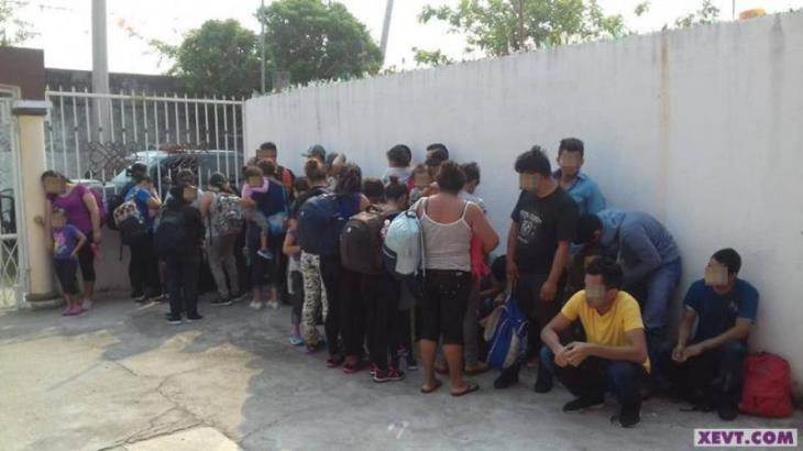 Resguardan a 45 centroamericanos en casa de seguridad… en la Miguel Hidalgo