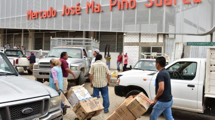 Vigilarán día y noche que ambulantes no se instalen en nuevo mercado Pino Suárez