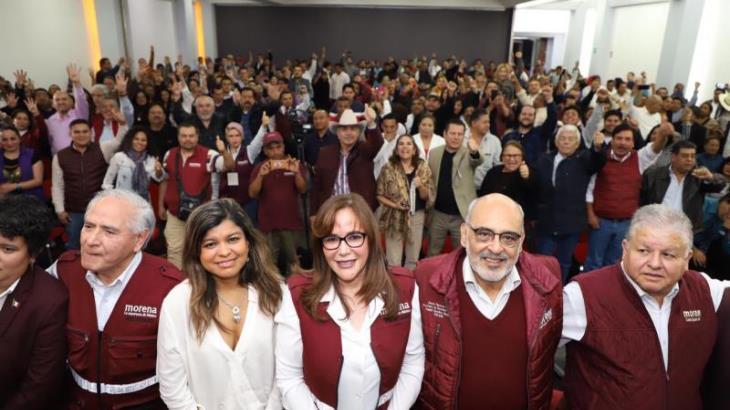 Desconoce Polevnsky Congreso de MORENA para el 26 de enero convocado por Bertha Luján