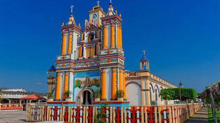 Celebran hoy tradicional enrama en Cupilco en honor a la Virgen de la Asunción