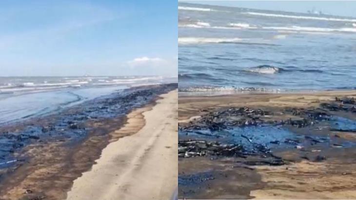 Se mantienen cerradas playas de Paraíso afectadas por aceite