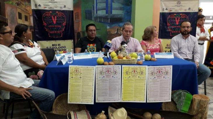 Anuncian 5to festival 'Majestuoso de Día de Muertos'