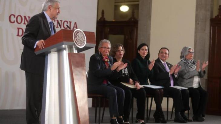 Tres mujeres integrarán terna para nuevo Ministro de la SCJN, anuncia AMLO