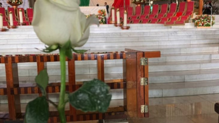 Pide Landau a Virgen de Guadalupe que bendiga relación entre México y su país