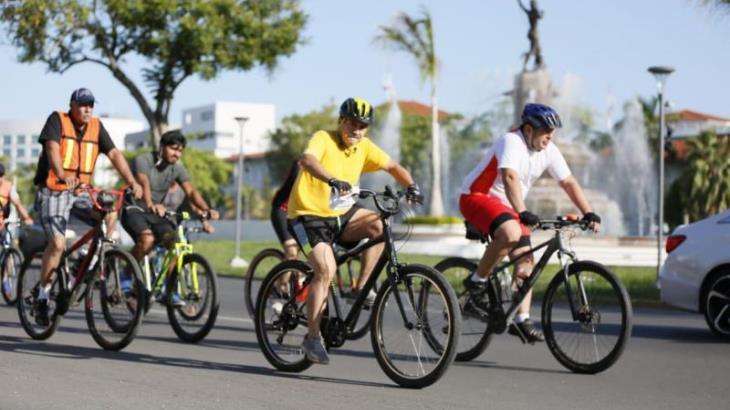 Ve Evaristo mayor aceptación de automovilistas hacia ciclistas de 'Bici Ruta' sabatina