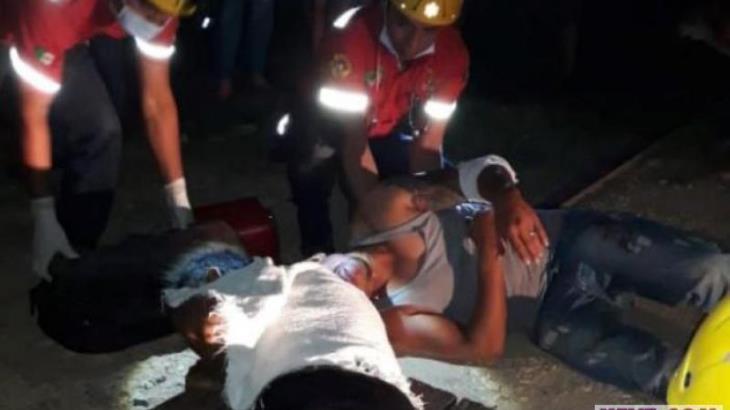 Amputa tren extremidad a migrante tras ser atacado por delincuentes