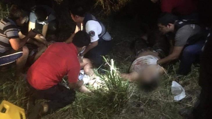 Choque de tres motocicletas deja cuatro heridos en Centla