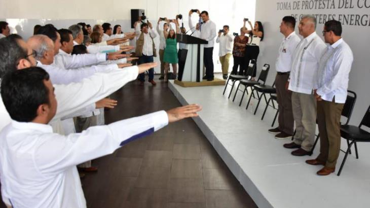 Rinde protesta en Tabasco el nuevo Consejo Nacional de Clústeres Energéticos