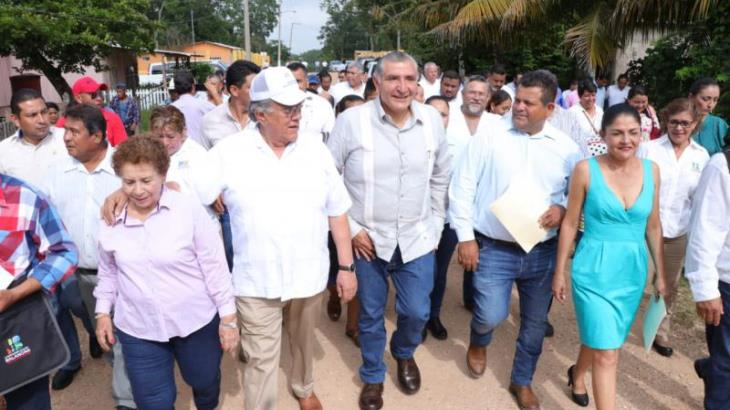 Anuncia Adán Augusto distrito de riego para Balancán