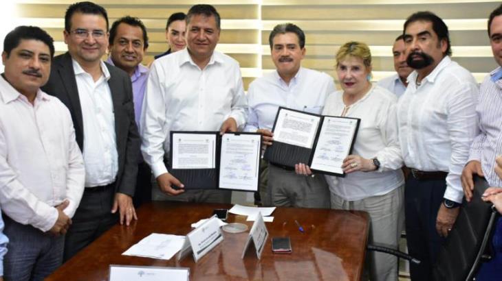 Signan convenio ayuntamiento de Centro y CFE, para conformar Centro de Control y Monitoreo