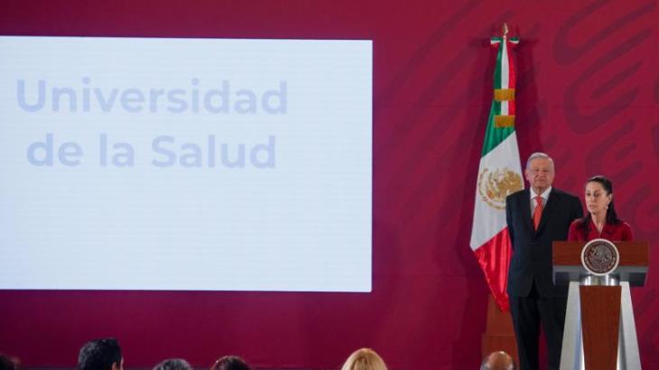 Lanzan convocatoria nacional para ingresar a la Universidad de la Salud en la CDMX