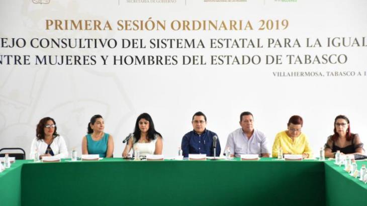 Instalan Consejo Consultivo para la Igualdad ente Mujeres y Hombres; integran a la coordinación estatal del INEGI