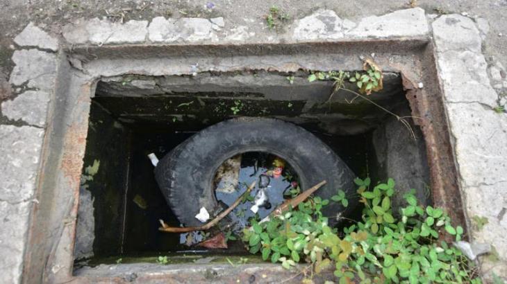FOTO GALERÍA: Tienen colonias de Villahermosa alcantarillas atascadas de basura