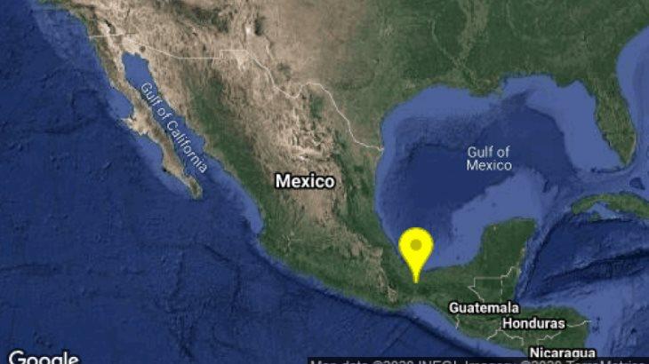 Se registran dos sismos en Veracruz