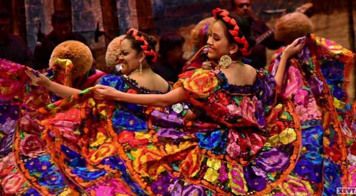 Imagen del Día: Derrochan talento en Encuentro Regional de Danzas Folklóricas