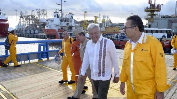 Vendrá Andrés Manuel a Tabasco el 31 de enero en inicio de desazolve del puerto de Frontera