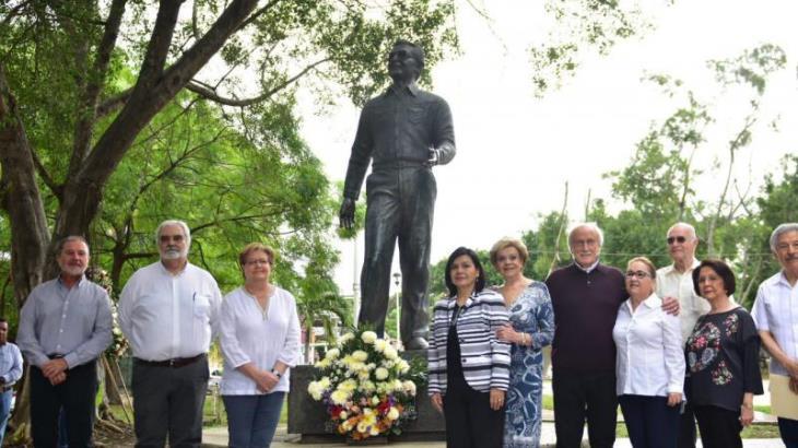 Conmemoran el centenario del natalicio del exgobernador Mario Trujillo García