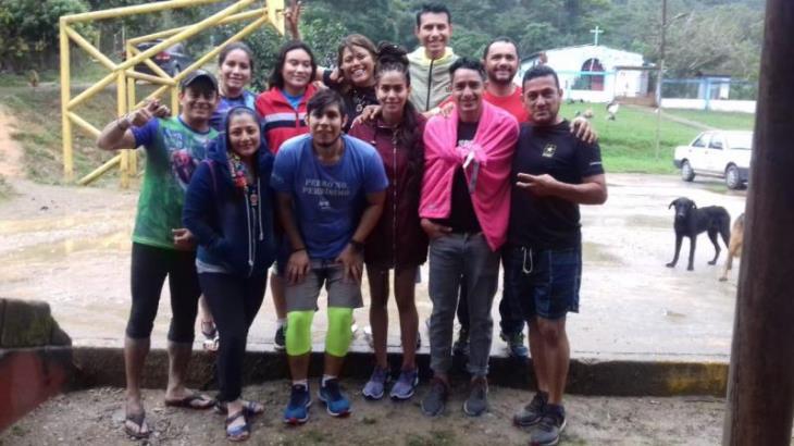 Se refugiaron en una cueva, relata excursionista Tabasqueña extraviada en el Cerro de la pava, Huimanguillo
