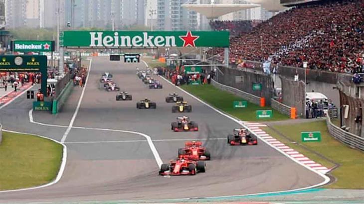 ¡Oficial! Suspenden Fórmula Uno en China por coronavirus