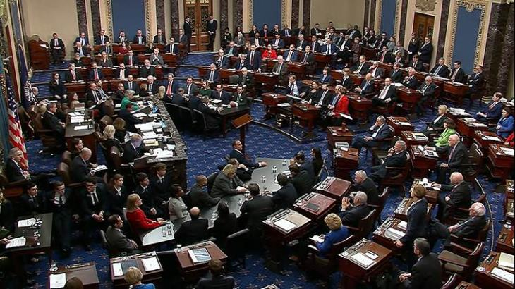 Senado de Estados Unidos absuelve a Trump