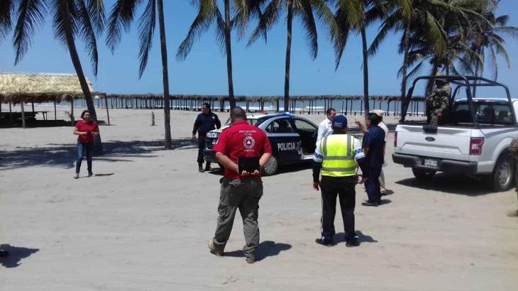 Ordenan en Tabasco… cierre temporal de las playas
