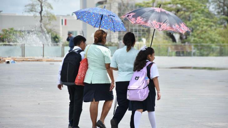 Seguirán temperaturas máximas en Tabasco; termómetro podría alcanzar los 40 grados