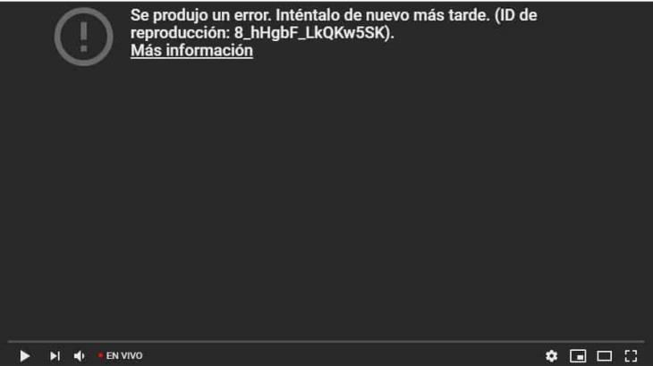 Se caen YouTube y Gmail