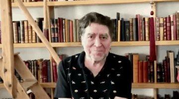 Los libros son el mejor remedio para el confinamiento y la soledad, recomienda Joaquín Sabina